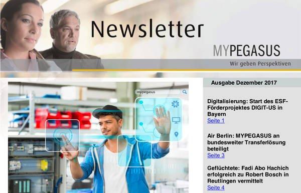 MYPEGASUS Newsletter 5