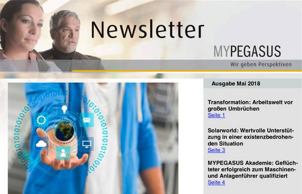 MYPEGASUS Newsletter 6