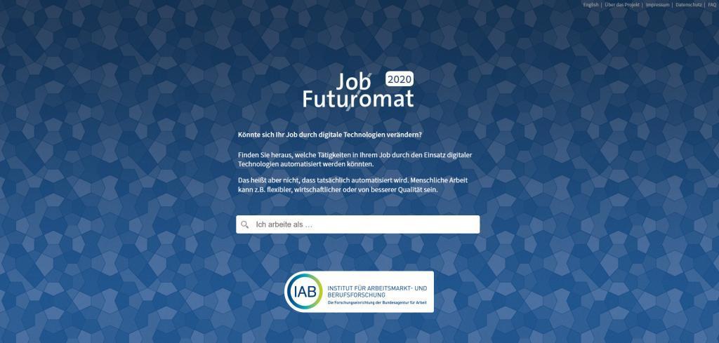 Futuromat Institut für Arbeitsmarkt- und Berufsforschung